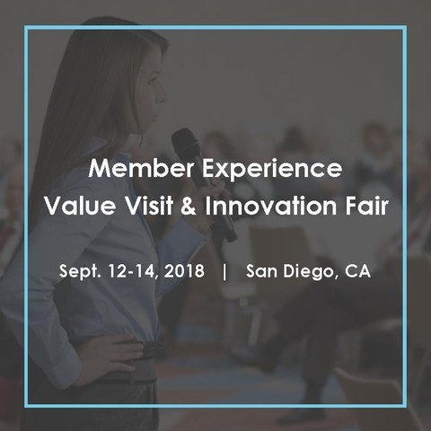 Register now for the Member Experience Value Visit & Innovation Fair