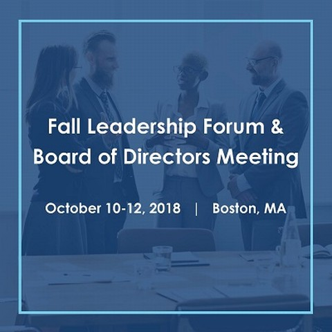 Health plan leaders - make plans to join us in Boston